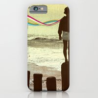 iPhone & iPod Case featuring The Flight by MAKI