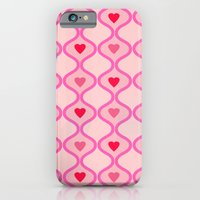 iPhone & iPod Case featuring Hearts by Kit4na