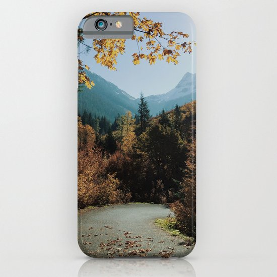 Washington Fall Rd iPhone & iPod Case