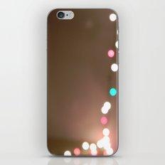 Christmas Lights. iPhone & iPod Skin