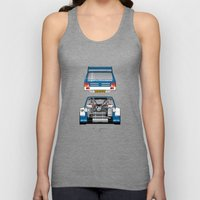 Outline Series N.º7, MG Metro 6R4, 1986 Unisex Tank Top