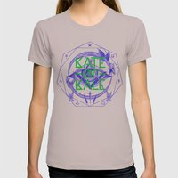 Kate of Kale's All Seeing Ch**bEye. Womens Fitted Tee Cinder SMALL