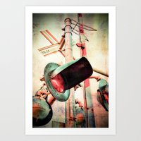 Crossings 2.0 Art Print