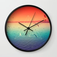 Wall Clock featuring Lapse In Perception by Victor Vercesi