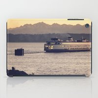Puget Sound Ferry iPad Case