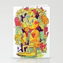 Knee-Jerk Stationery Cards