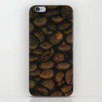 Coffee pattern, fine art photo, Coffeehouse, shops, bar & restaurants, still life, interior design iPhone & iPod Skin