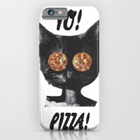 Pizza cat iPhone 6 Slim Case