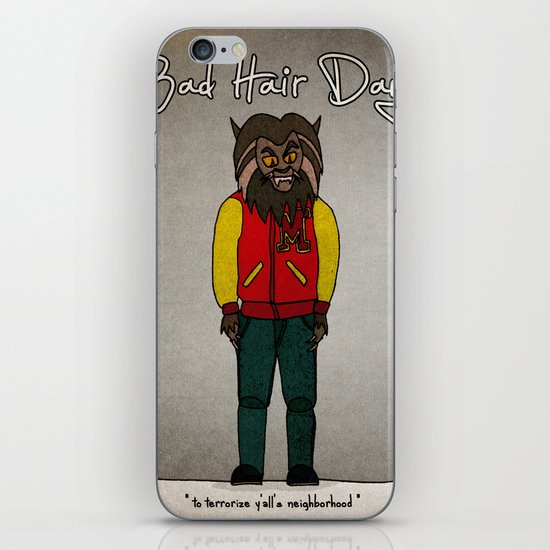 bad hair day no:5 / Thriller iPhone & iPod Skin