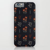 iPhone & iPod Case featuring Red Flowers by R. Phillips