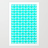HobNob Sea Large Art Print