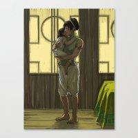 Momma Toph Canvas Print