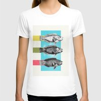 fish T-shirts featuring Fish by Danny Ivan