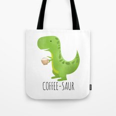 Coffee-saur Tote Bag