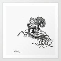 Khnum Art Print