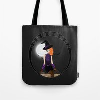 Witch - Vector Tote Bag