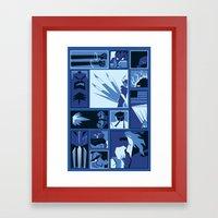 Street Fighter II Art De… Framed Art Print