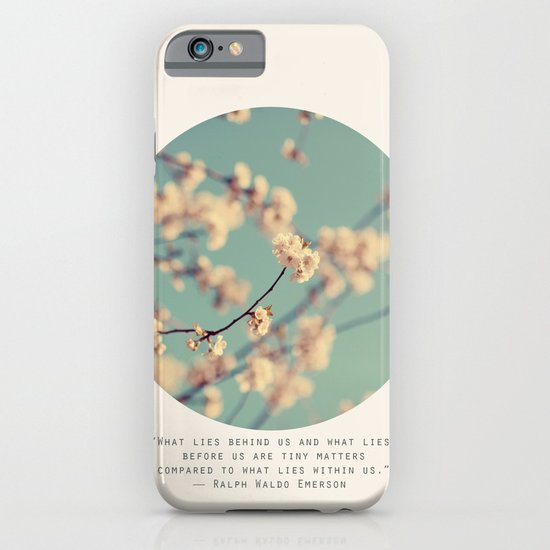 What Lies... iPhone & iPod Case