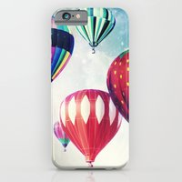 iPhone & iPod Case featuring Dreaming of Hot Air Balloons by Leah M. Gunther Photography & Design