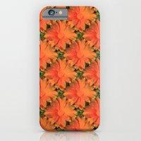 Orange Daisy iPhone 6 Slim Case