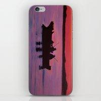 Fishing In The Sunset iPhone & iPod Skin