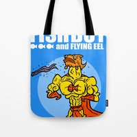 The Uncredible Fish Boy and Flying Eel! Tote Bag