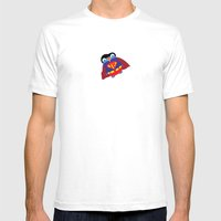 Pengwin That Is Super Mens Fitted Tee White SMALL