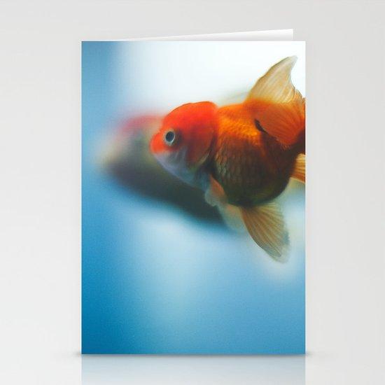 goldfish Stationery Card