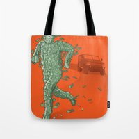 The Six Million Dollar Man Tote Bag
