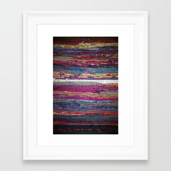 The Magic Carpet Framed Art Print