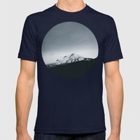 Mt. Hood X Oregon Mens Fitted Tee Navy SMALL
