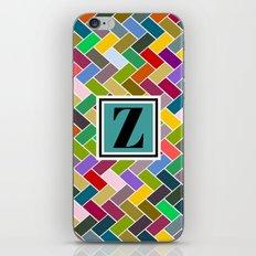 Z  Monogram iPhone & iPod Skin