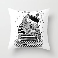 Amour éternel. Throw Pillow