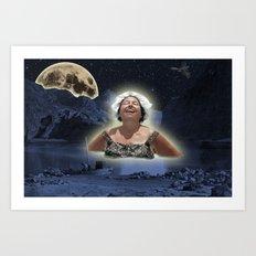 Nightswimming Art Print