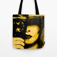 Vintage Camera Girl Tote Bag