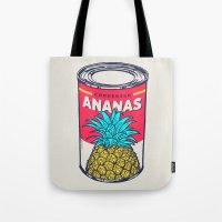 Condensed Ananas Tote Bag