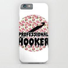 funny crochet vintage floral professional hooker Slim Case iPhone 6s