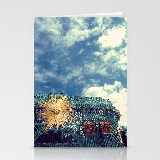 Sun Stationery Card