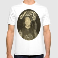 Manchu Bride Mens Fitted Tee White SMALL