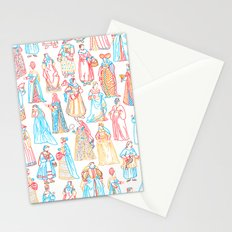 Renaissance Fashion Stationery Cards