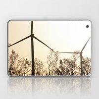 Sunrise With Wind Turbin… Laptop & iPad Skin