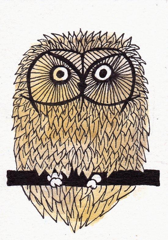 Owl II Art Print