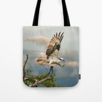 Osprey With Nesting Mate… Tote Bag