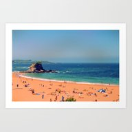 Summer In The North Of S… Art Print