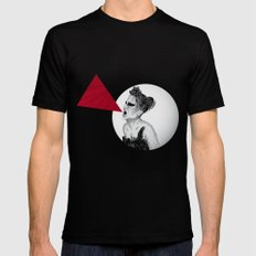 Black Swan IV SMALL Mens Fitted Tee Black