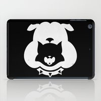 Cartoon Food Chain iPad Case