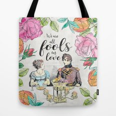 Pride and Prejudice - Fools in Love Tote Bag