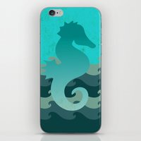 Seahorse Dream iPhone & iPod Skin