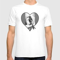 Sparrow In The Cold 2 Mens Fitted Tee White SMALL