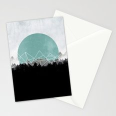Woods Abstract 2 Stationery Cards